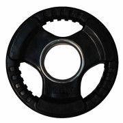 Диск обрезиненный ZSO черный 3 HANDLE  D-51,  1,25 кг