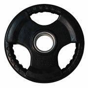 Диск обрезиненный ZSO черный 3 HANDLE  D-51,  5 кг