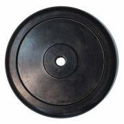 Диск обрезиненный ZSO черный Classic  D-26, 25 кг